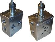 Плита монтажная одноместная с клапаном OMT BSA10DPLX-10