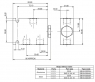 Делитель-сумматор потока Argo Hytos SFD2F-B3/I 40 + SB-B4-0203AL