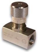 Дроссель БЕЗ обратного клапана трубного монтажа Oleoweb STBF-140