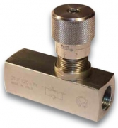 Дроссель с обратным клапаном трубного монтажа Oleoweb STUF-140
