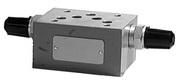 Дроссель с обратным клапаном модульного монтажа Argo Hytos VSO2-10/MCS